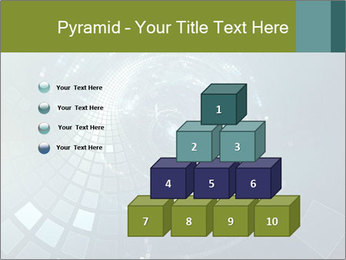 3D abstract science PowerPoint Templates - Slide 31