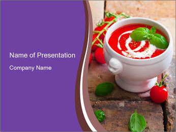 Small bowl PowerPoint Templates - Slide 1