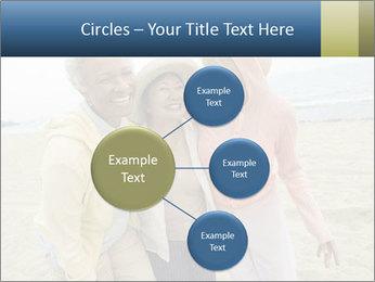 Female friends PowerPoint Templates - Slide 79