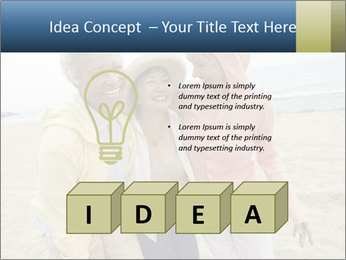 Female friends PowerPoint Templates - Slide 80