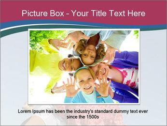 Girls heading soccer ball PowerPoint Template - Slide 15