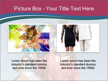 Girls heading soccer ball PowerPoint Template - Slide 18