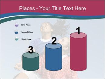 Girls heading soccer ball PowerPoint Template - Slide 65
