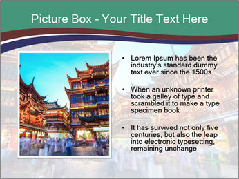 Beautiful yuyuan garden PowerPoint Templates - Slide 13