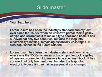 Beautiful yuyuan garden PowerPoint Templates - Slide 2