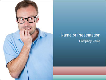 Nerdy guy PowerPoint Templates - Slide 1