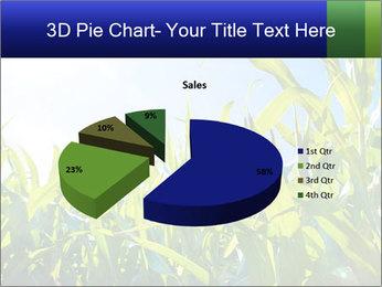 Green corn PowerPoint Template - Slide 35