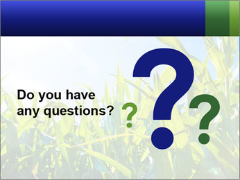 Green corn PowerPoint Template - Slide 96