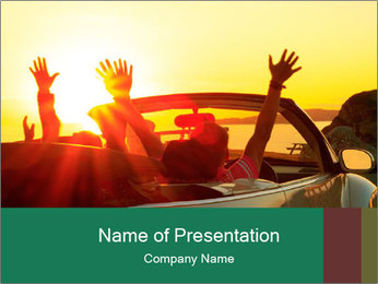 Happy family PowerPoint Templates - Slide 1