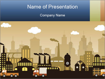 Factory PowerPoint Templates - Slide 1