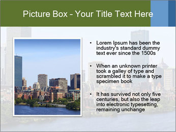 Aerial View of Boston PowerPoint Templates - Slide 13