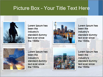 Aerial View of Boston PowerPoint Templates - Slide 14