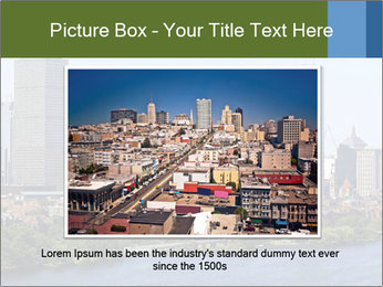 Aerial View of Boston PowerPoint Templates - Slide 15