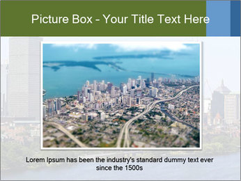 Aerial View of Boston PowerPoint Templates - Slide 16