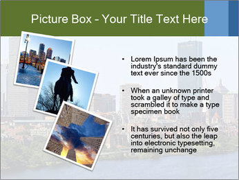 Aerial View of Boston PowerPoint Templates - Slide 17