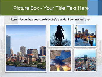 Aerial View of Boston PowerPoint Templates - Slide 19