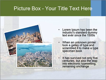Aerial View of Boston PowerPoint Templates - Slide 20