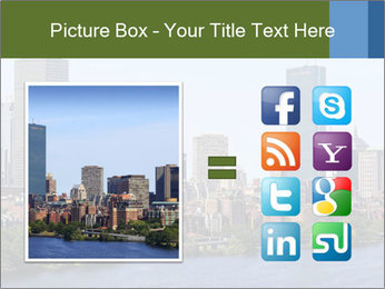 Aerial View of Boston PowerPoint Templates - Slide 21