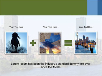Aerial View of Boston PowerPoint Templates - Slide 22