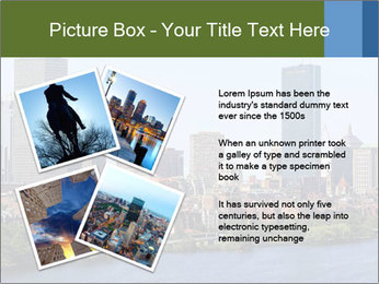Aerial View of Boston PowerPoint Templates - Slide 23