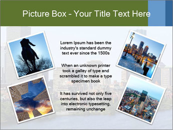 Aerial View of Boston PowerPoint Templates - Slide 24