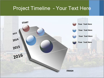 Aerial View of Boston PowerPoint Templates - Slide 26