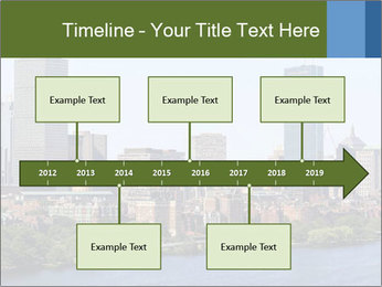 Aerial View of Boston PowerPoint Templates - Slide 28