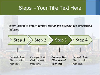 Aerial View of Boston PowerPoint Templates - Slide 4