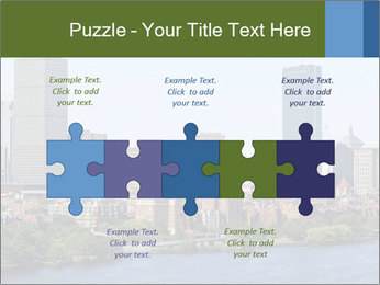 Aerial View of Boston PowerPoint Templates - Slide 41