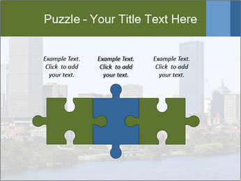 Aerial View of Boston PowerPoint Templates - Slide 42