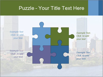 Aerial View of Boston PowerPoint Templates - Slide 43