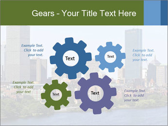 Aerial View of Boston PowerPoint Templates - Slide 47