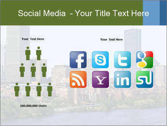 Aerial View of Boston PowerPoint Templates - Slide 5