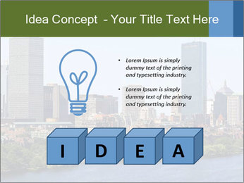 Aerial View of Boston PowerPoint Templates - Slide 80