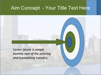 Aerial View of Boston PowerPoint Templates - Slide 83