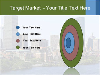 Aerial View of Boston PowerPoint Templates - Slide 84