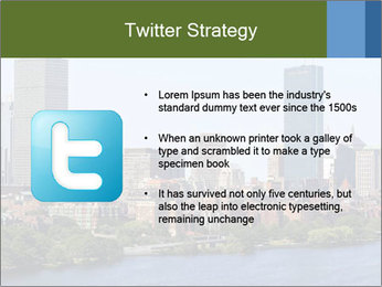 Aerial View of Boston PowerPoint Templates - Slide 9
