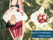 Outdoor portrait PowerPoint Templates