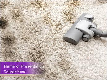 Dirty carpet PowerPoint Template - Slide 1
