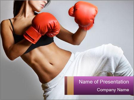 Beautiful woman PowerPoint Templates