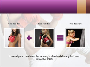 Beautiful woman PowerPoint Templates - Slide 22