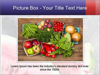 Water melon PowerPoint Templates - Slide 16