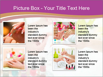 Woman in a nail salon PowerPoint Templates - Slide 14