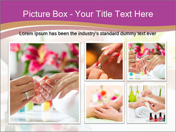 Woman in a nail salon PowerPoint Templates - Slide 19