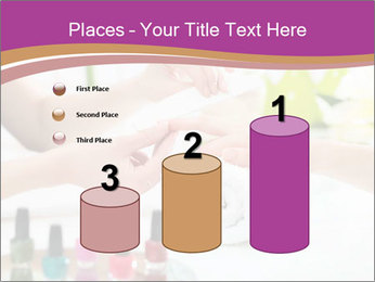 Woman in a nail salon PowerPoint Templates - Slide 65