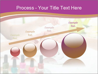Woman in a nail salon PowerPoint Templates - Slide 87
