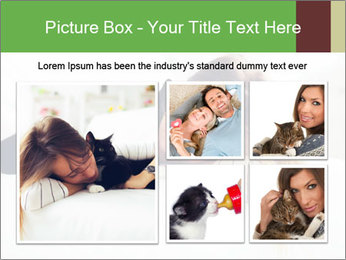 Beautiful girl PowerPoint Template - Slide 19