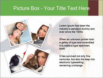 Beautiful girl PowerPoint Template - Slide 23