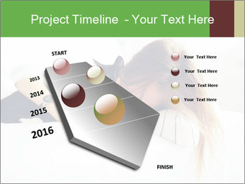 Beautiful girl PowerPoint Template - Slide 26