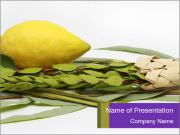 Etrog PowerPoint Templates